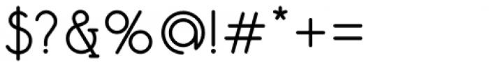 Mafond Regular Font OTHER CHARS