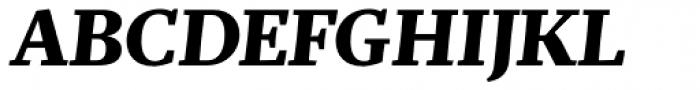 Mafra Bold Italic Font UPPERCASE