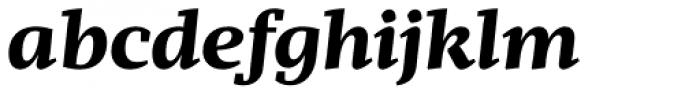 Mafra Bold Italic Font LOWERCASE