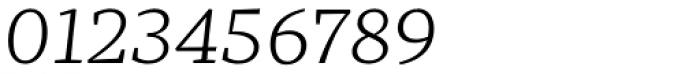 Mafra Light Italic Font OTHER CHARS
