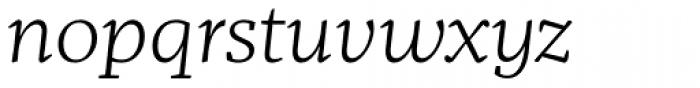 Mafra Light Italic Font LOWERCASE