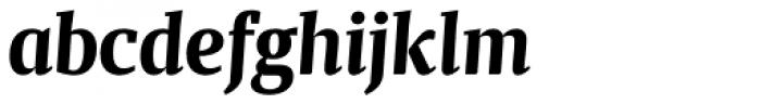 Maga Bold Italic Font LOWERCASE