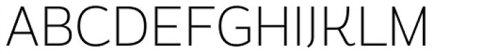 Magallanes Condensed ExtraLight Font UPPERCASE