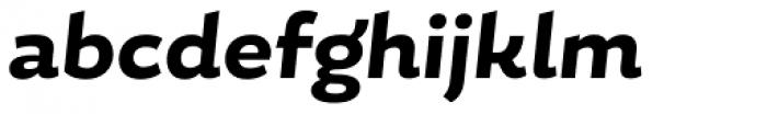 Magallanes ExtraBold Italic Font LOWERCASE