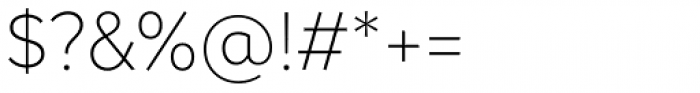 Magdelin Alt Extra Light Font OTHER CHARS