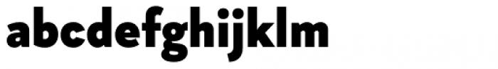 Magdelin Black Font LOWERCASE