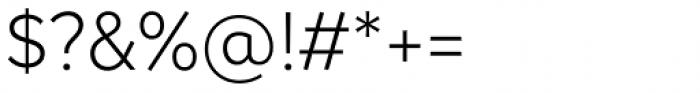 Magdelin Light Font OTHER CHARS
