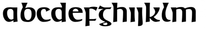 Mage Antique Bold Font LOWERCASE