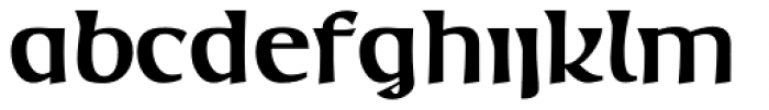 Mage Bold Font LOWERCASE