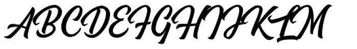 Magehand Font UPPERCASE
