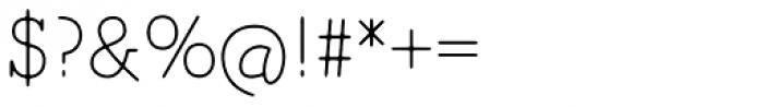 Magendfret Light Font OTHER CHARS