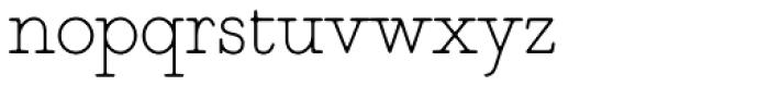 Magendfret Light Font LOWERCASE