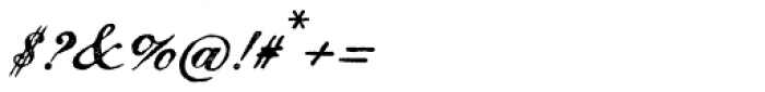 Magesta Script Regular Font OTHER CHARS