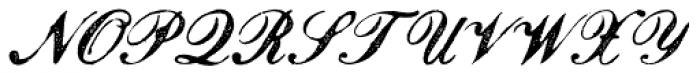 Magesta Script Regular Font UPPERCASE