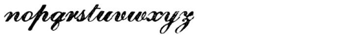 Magesta Script Regular Font LOWERCASE