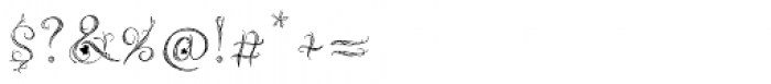 Magic Ivy Regular Font OTHER CHARS