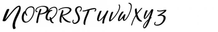 Magic Script Regular Font UPPERCASE