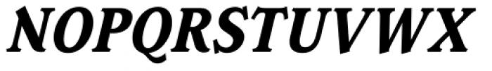 Magica Bold Italic Font UPPERCASE