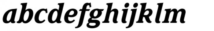 Magica Bold Italic Font LOWERCASE