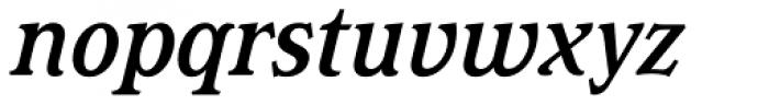 Magica Medium Italic Font LOWERCASE