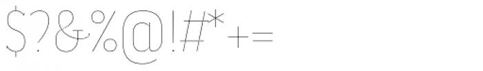 Magica Onyx V Thin Font OTHER CHARS