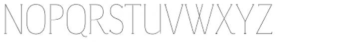Magica Onyx V Thin Font UPPERCASE