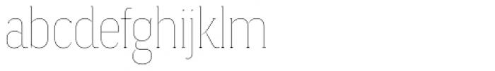 Magica Onyx V Thin Font LOWERCASE