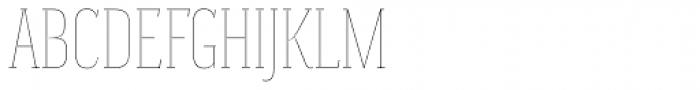 Magica Ruby III Thin Font UPPERCASE
