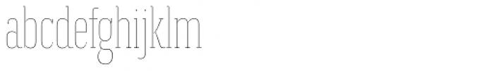 Magica Ruby III Thin Font LOWERCASE