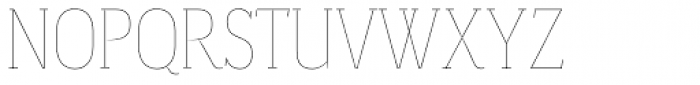 Magica Ruby V Thin Font UPPERCASE