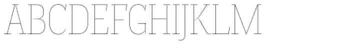 Magica Topaz V Thin Font UPPERCASE