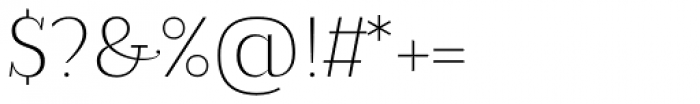 Magica Topaz X Light Font OTHER CHARS
