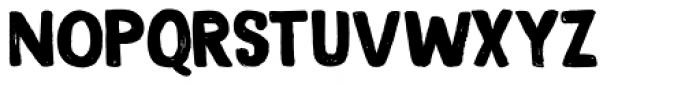 Magical Brush Regular Font UPPERCASE