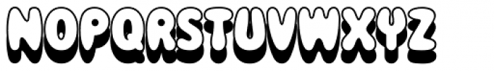 Magical Mystery Tour Outline Shadow Font LOWERCASE