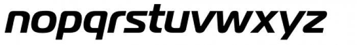 Magistral Bold Italic Font LOWERCASE