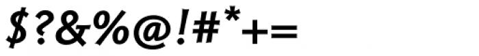 Magma II Semibold Italic Font OTHER CHARS