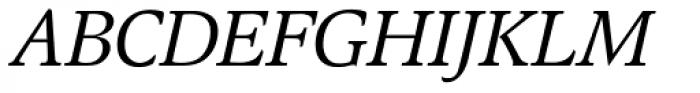 Magna EF Italic Font UPPERCASE