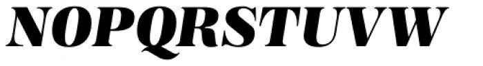 Magnel Display Black Italic Font UPPERCASE