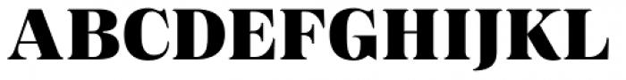 Magnel Display Black Font UPPERCASE