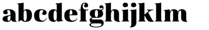 Magnel Display Black Font LOWERCASE