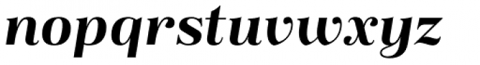 Magnel Display Bold Italic Font LOWERCASE