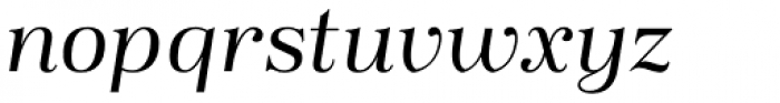 Magnel Display Italic Font LOWERCASE