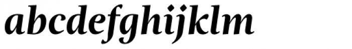 Magneta Bold Italic Font LOWERCASE