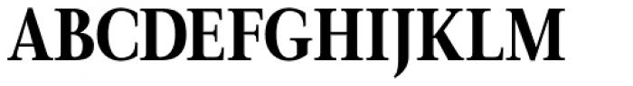 Magneta Condensed Bold Font UPPERCASE