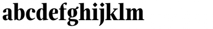 Magneta Condensed Bold Font LOWERCASE
