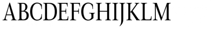 Magneta Condensed Book Font UPPERCASE