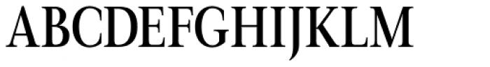 Magneta Condensed Medium Font UPPERCASE