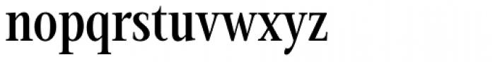 Magneta Condensed Medium Font LOWERCASE