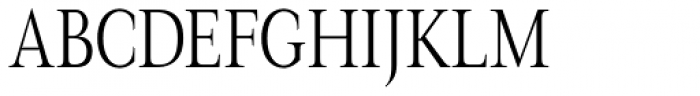 Magneta Condensed Thin Font UPPERCASE