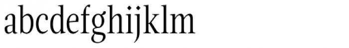 Magneta Condensed Thin Font LOWERCASE